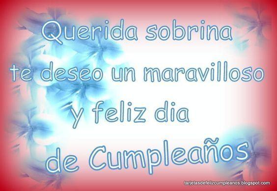 Tarjetas De Feliz Cumpleaños Para Una Sobrina Muy Especial Tarjetas De Feliz Cumpleaños Cumpleaños Sobrina Feliz Cumpleaños
