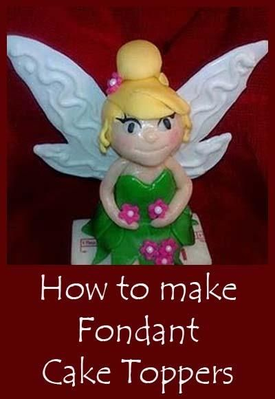 How to make cake toppers: