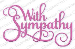 With Sympathy - DIE366-Q: