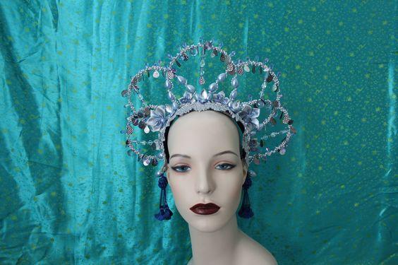 Rain Goddess headdress by Mascherina