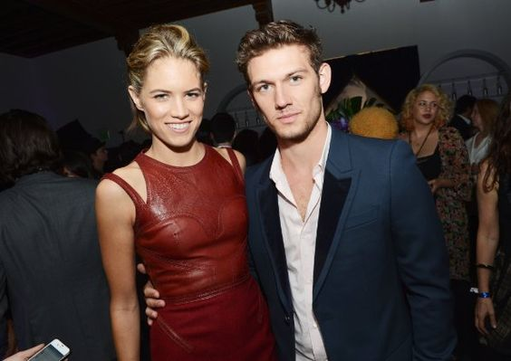 Alex Pettyfer and Cody Horn