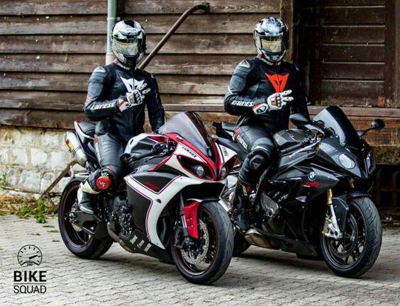 Bmw s 1000 RR and R1 yamaha ...