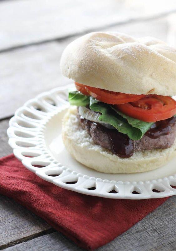 Balsamic Burger - FoodBabbles.com