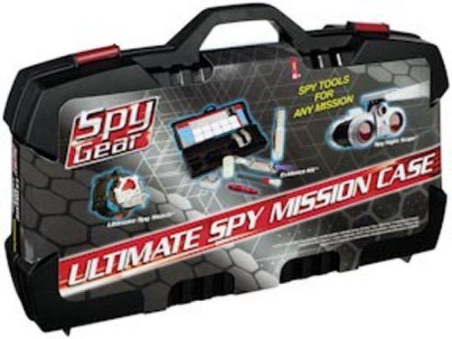 ultimate mission spy case by spy gear includes nightscope evidence kit and ultimate. Black Bedroom Furniture Sets. Home Design Ideas