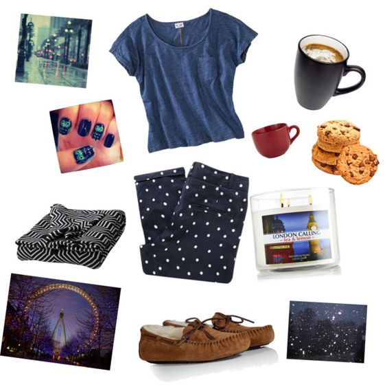 """Cozy London Winter Lazy Night"" by heidiseventeen ❤ liked on Polyvore"