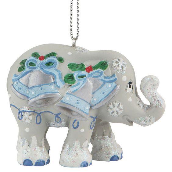 ELEPHANT PARADE - Ornament - Silver bells 5cm