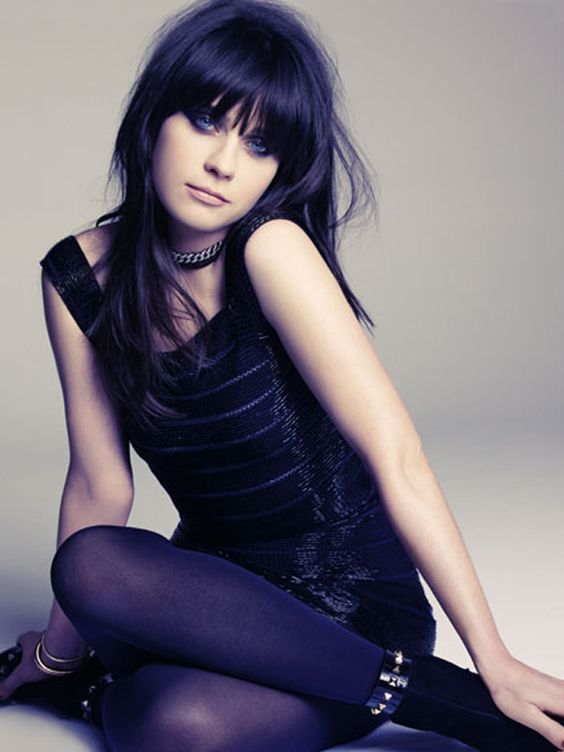 Zooey Deschanel poses for Marie Claire's May 2012 issue. See the full spread: http://bit.ly/HuNBZt