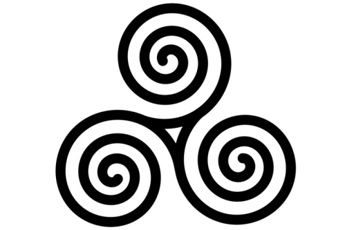 Spiral of life, trinity tattoo. Symbol meanings website