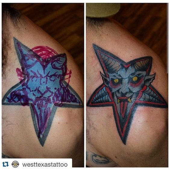 #Repost @westtexastattoo in El Paso, Texas ・・・ Before & after #elpaso #elpasotattoos #itsallgoodep by @ericwardtattoos #coverup #coveruptattoo #fixeruppertattoo #tattoo #tattoos #elpaso #eptx #texas #texastattoos