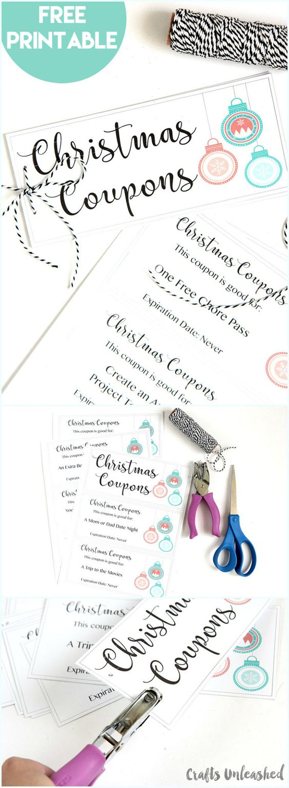 printable coupon book diy gift idea consumer crafts