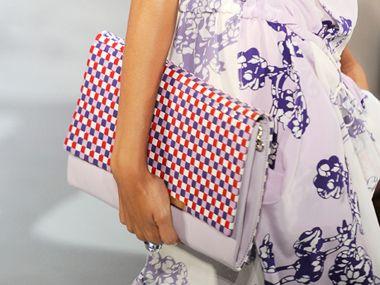 DVF Spring 2012 (that bag!)