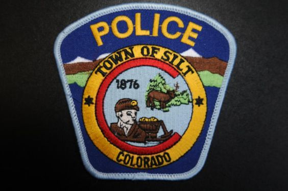 Silt Police Patch, Garfield County, Colorado (Vintage)
