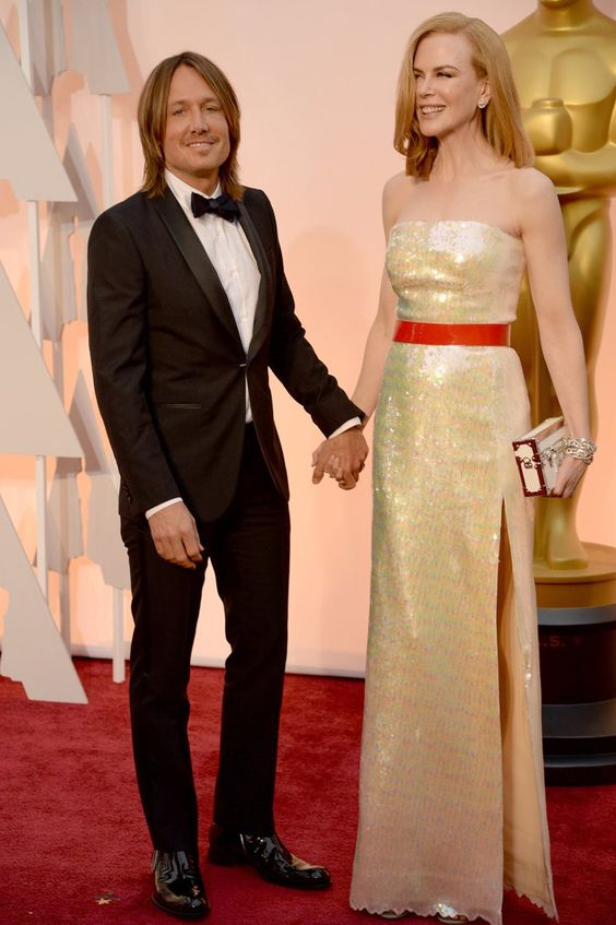 Pin for Later: Seht alle Stars bei den Oscars! Keith Urban und Nicole Kidman