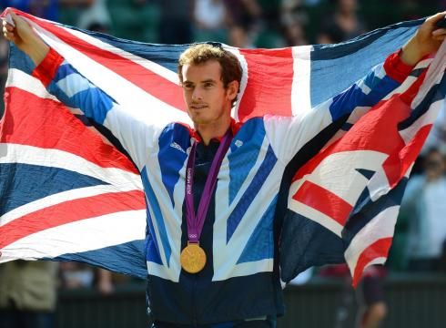 Andy Murray lost to Roger Federer four weeks ago in the Wimbledon final. He turned the tables on his opponent on Centre Court to win a gold medal. TEAM GB!