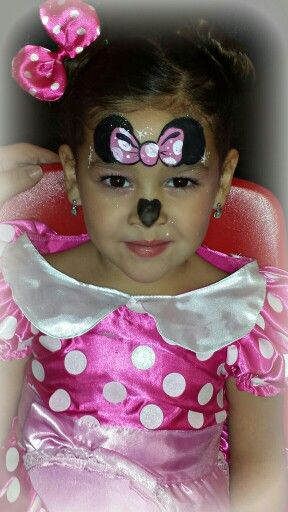 Minnie Mouse face paint | Halloween | Pinterest | Mice ...