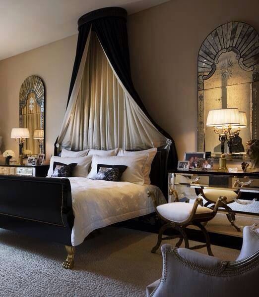 Elegant and romantic bedroom