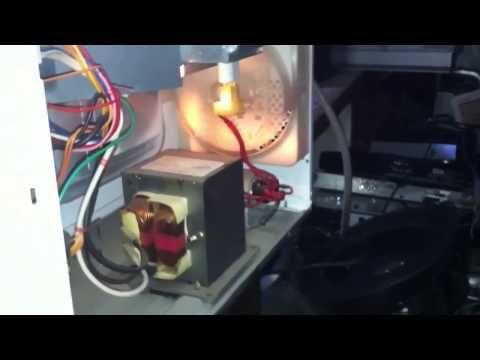 Horno No Calienta Magnetron Dañado Youtube Electricidad Y Electronica Reparación Hornos Microondas