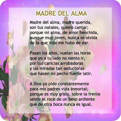 Lindos Poemas Para El Dia De La Madre Poema Para La Madre