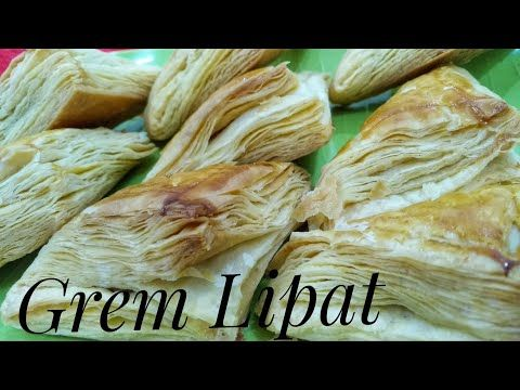 Grem Lipat Pastry Kue Kertas Youtube Makanan Pastry Resep Kue