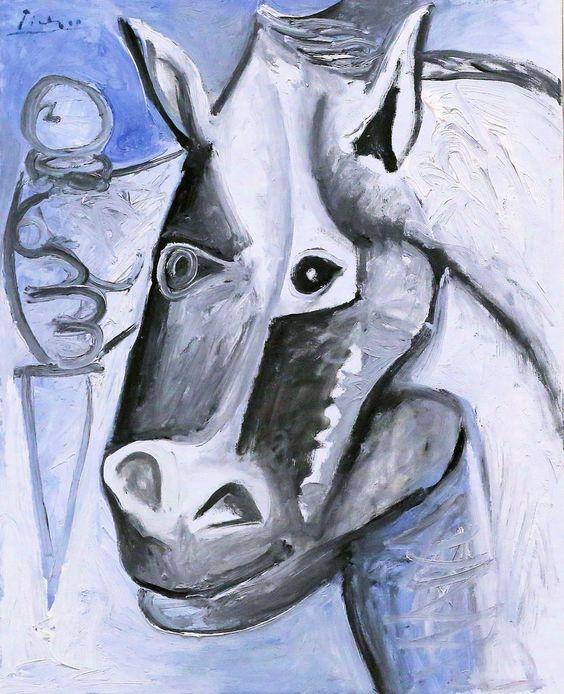 Pablo Picasso - Tete de Cheval  1962. Hannover. Sprengel Museum.