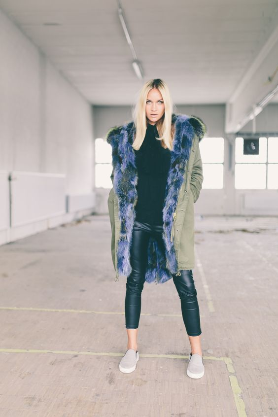 Check out the Nina Suess Edition Parka: