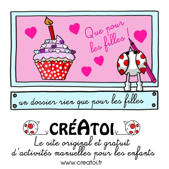 Les filles - Retrouve tout ce qu'il faut pour créer un anniversaire original pour fille !