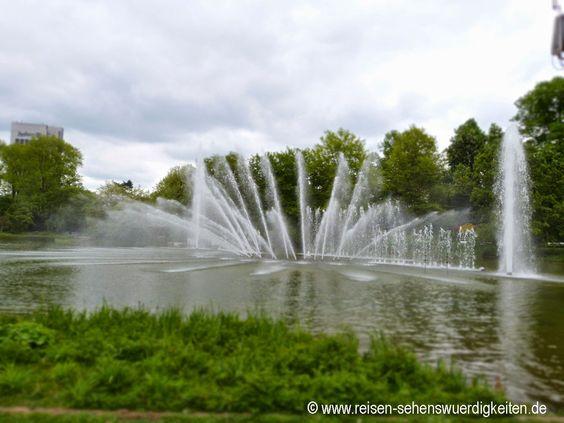 Parc Planten un Blomen, Hambourg | Wasserspiele Planten un Blomen - Schönster Park in Hamburg