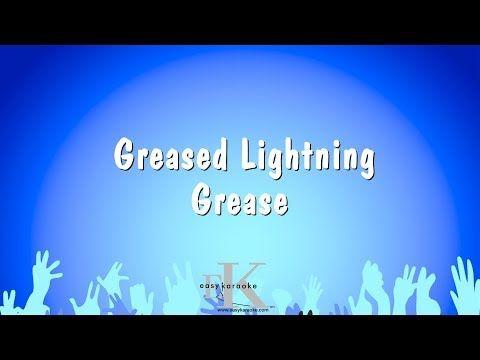 Greased Lightning Grease Karaoke Version Youtube Karaoke Adele Karaoke Songs
