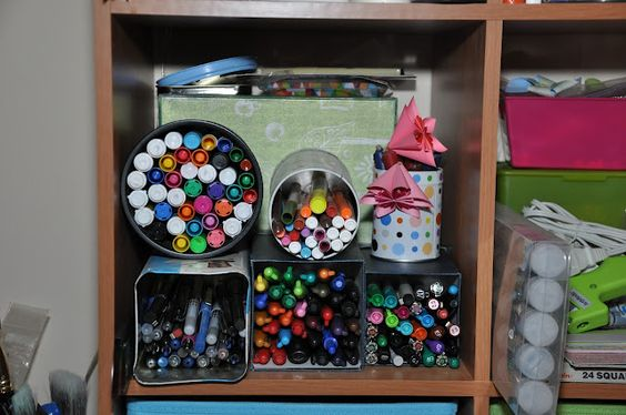 ...organize your pens & markers