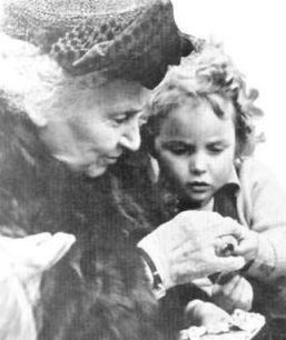"""Maria Montesorri: Founder of the New Education Movement in Europe.""""There is only one problem, and it is human development in its totality; once this is achieved in any unit - child or nation - everything else follows spontaneously and harmoniously"""""""