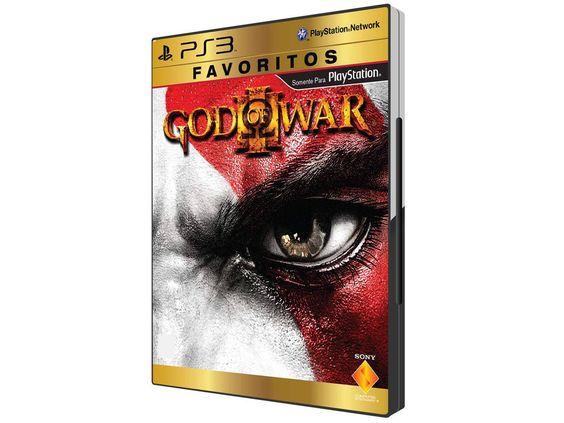 God of War III para #PS3 Coleção Favoritos #Sony -->R$ 59,90 ___ em até 2x de R$ 29,95 sem juros no cartão de crédito ...................................Compre Aqui: https://www.magazinevoce.com.br/…/god-of-war-iii-par…/21013/ #games #jogos #godofwar #promo #ondecomprar