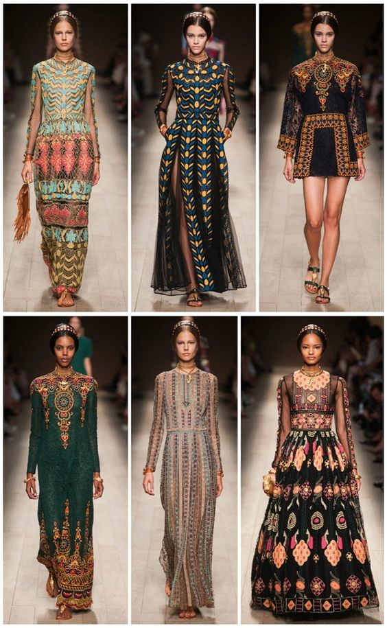 Paris Fashion Week Valentino Spring 2014