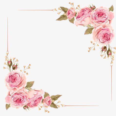 Undangan Kartu Bunga Pernikahan Bunga Desain Bunga