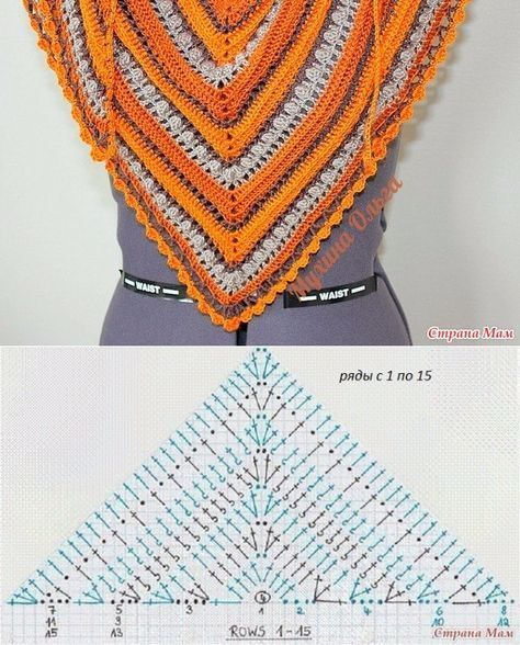 Discover Art Inspiration Ideas Styles Crochet Shawl Easy Shawl Crochet Pattern Crochet Clothes