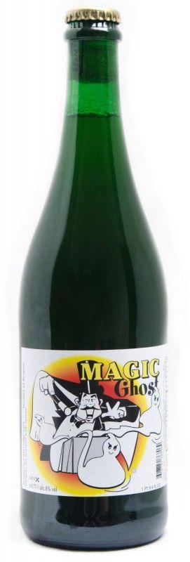 Cerveja Fantôme Magic Ghost, estilo Saison / Farmhouse, produzida por Fantôme, Bélgica. 8% ABV de álcool.
