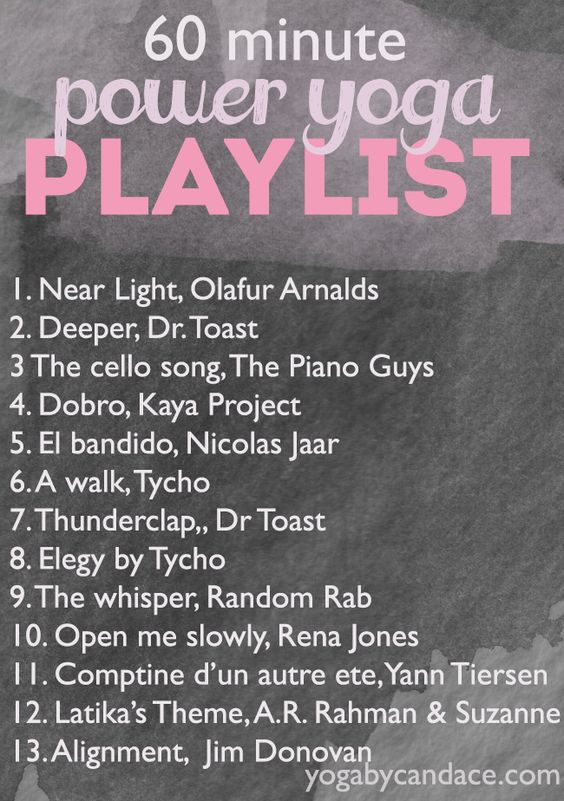 60 min power playlist. Need to come back to this for ideas Love this playlist :)