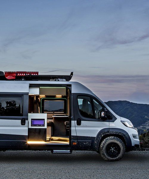 Fiat Ducato Base Camper Van Is Built For Escaping The City Fiat Ducato Fiat Camper Van