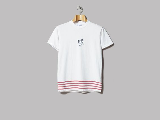 Yellow Rat Duke Stripes Tee (Red Stripes)