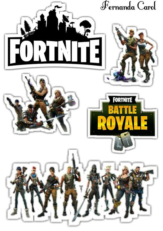 Fortnite Free Printable Cake Toppers Oh My Fiesta For Geeks Birthday Cake Topper Printable Party Printables Free Birthday Party Printables Free