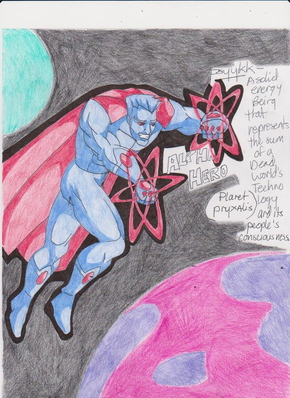the universes's greatest superheros compete for godhood-THE ALPHA HERO