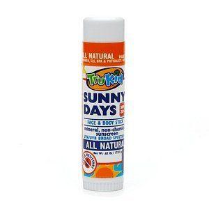 Safe face sunscreen stick for the kiddos, per the EWG.