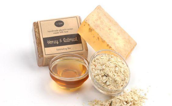 Exfoliating Bars - Honey & Oatmeal