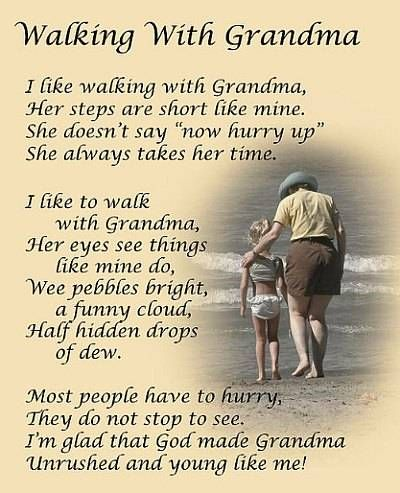 Loving Quotes For Grandma Thank You Grandma For Teaching