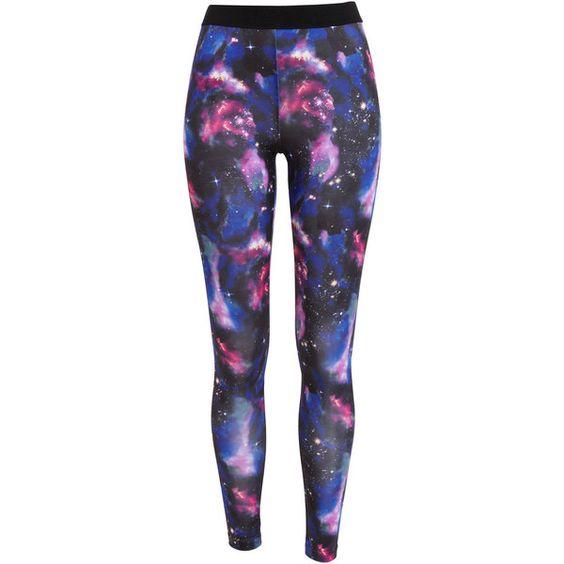 Bardot Galaxy Legging ($63) ❤ liked on Polyvore