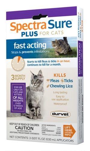 Spectra Sure Plus For Cats In 2020 Pet Hacks Cats Cat Fleas