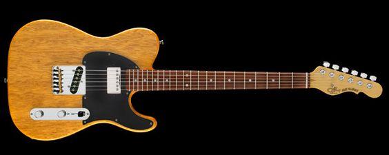 G&L Korina Collection ASAT Classic Bluesboy