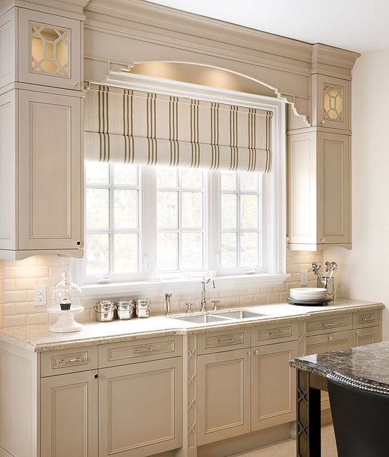 Valance Lighting Kitchen Cabinets: Devil, Cabinets And Roman Shades On Pinterest