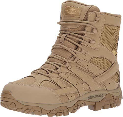 Shop For Merrell Moab 2 8 Tactical Waterproof Boot Men 5 5 Coyote Online Aristatopshop In 2020 Boots Boots Men Tactical Boots