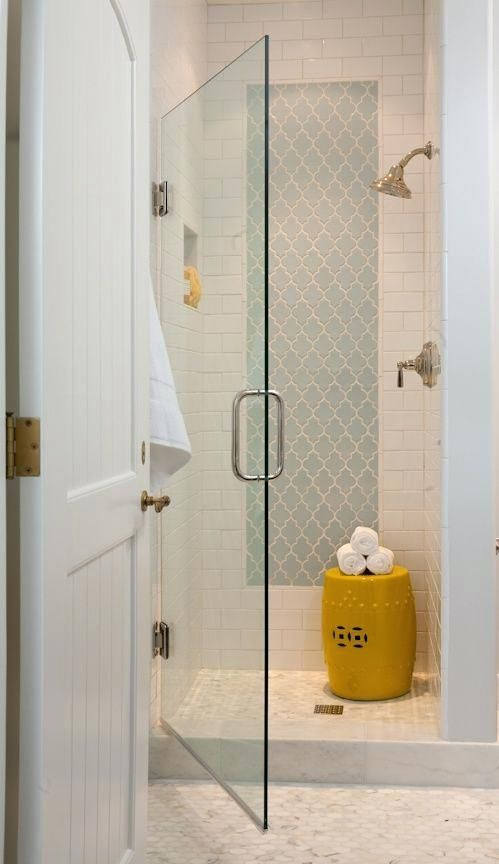 Shower Stall Tile Ideas View In Gallery Bathroom