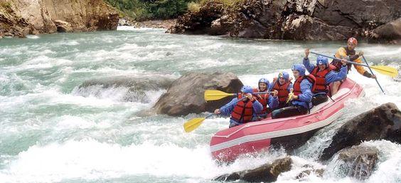 Rafting Río Manso